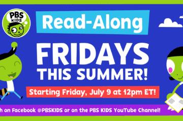 PBS Kids - Read Along Summer Fridays