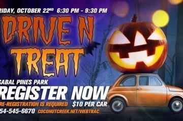 Sabal Pines Park - Halloween Drive N Treat
