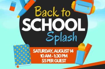 Tamarac - Back To School Splash