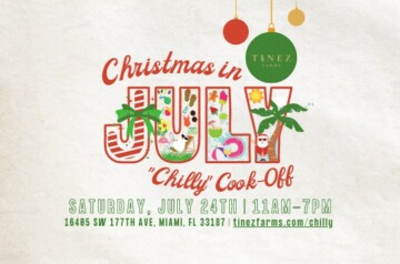 Tinez Farms - Christmas in July