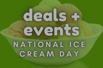 Deals and events - National Ice Cream day