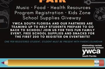 YWCA Back-to-School Community Fair