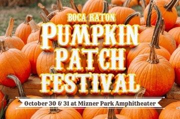 Boca Raton Pumpkin Patch Festival - 2021