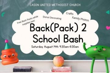 Cason United - Back 2 School Bash