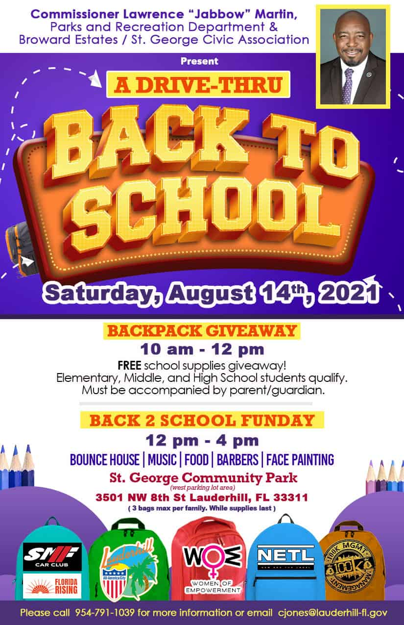 City of Lauderhill - Back To School Funday