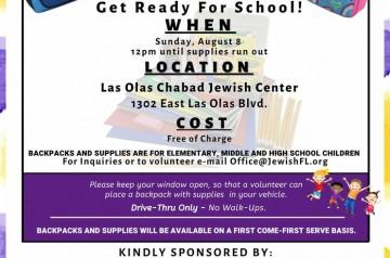 Las Olas Chabad Jewish Center - Back To School