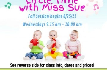 Temple Beth Emet - circle time with miss sue - Fall 2021