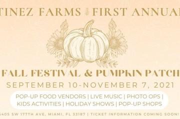 Tinez Farms - Fall Festival - Pumpkin Patch - 2021
