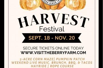 Berry Farms - Harvest Festival 2021