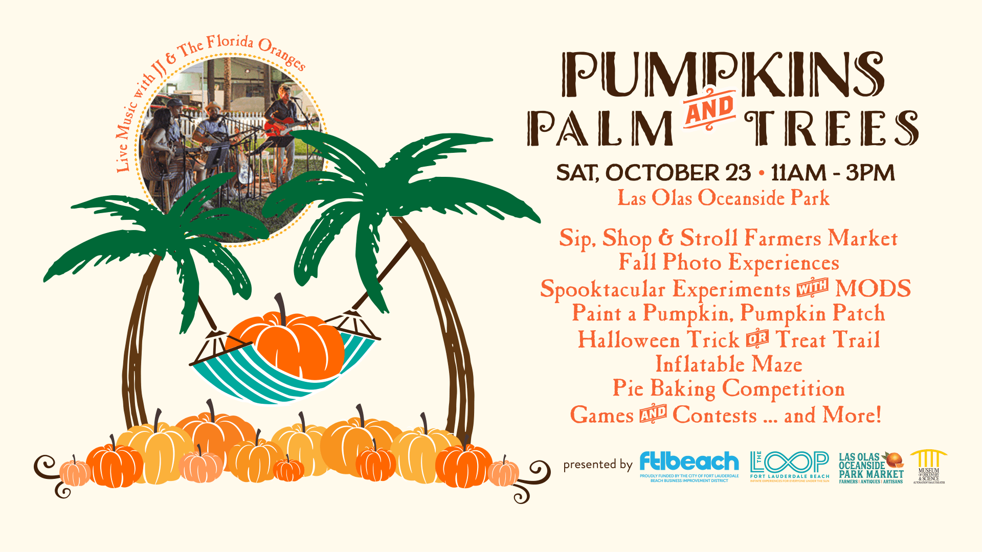 City of Fort Lauderdale - Pumpkins and Palm Trees