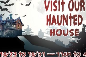 Festival Marketplace - Haunted House 2021