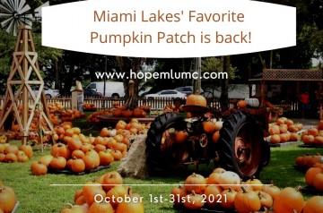 Hope - United Methodist Church (UMC) - Pumpkin Patch - 2021.