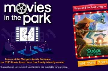 Margate Sports Complex - Movies in the park - Raya and the Last Dragon