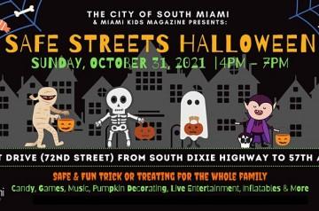 Miami Kids - Spooktacular Safe Streets - Halloween - 2021