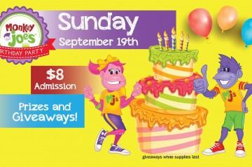 Monkey Joes - Coral Springs - Birthday