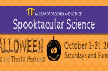 Museum of Discovery and Science - Spooktacular Science