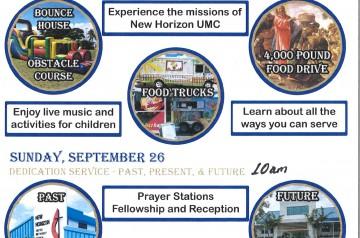 New Horizon United Methodist Church - 40th Anniversary Celebration
