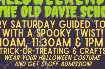 Old Davie School - Halloweekends - 2021