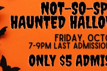 Old Davie School - Not So Spooky Halloween