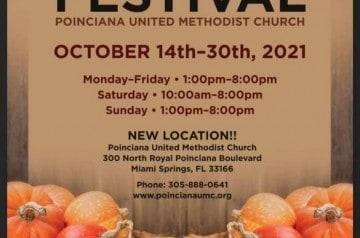 Poinciana United Methodist Church (UMC) - Harvest Festival and Pumpkin Patch -2021