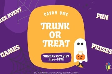 Cason United - Trunk or Treat 2021 - Delray Beach