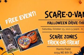 City of Homestead - Halloween Scare-O-Van - Harris Field