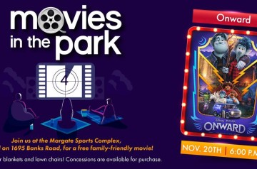 City of Margate - Movies in the Park nward - Margate Sports Complex