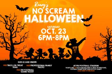 FIU - No Scream Halloween - 2021