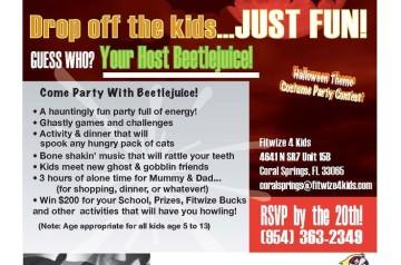 Fitwize 4 Kids Fitness Center - Halloween