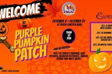 Purple Church - Purple Pumpkin Patch